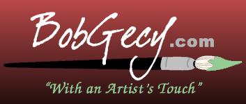 BobGecy.com - With an Artist's Touch